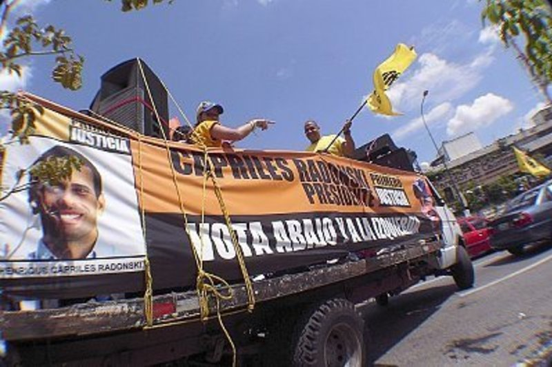 A grassroots campaign in Venezuela