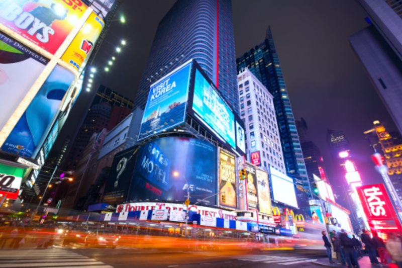 Clear Channel unveils new interactive billboards